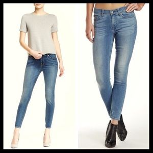 7 for all mankind // skinny gwenevere ankle jeans